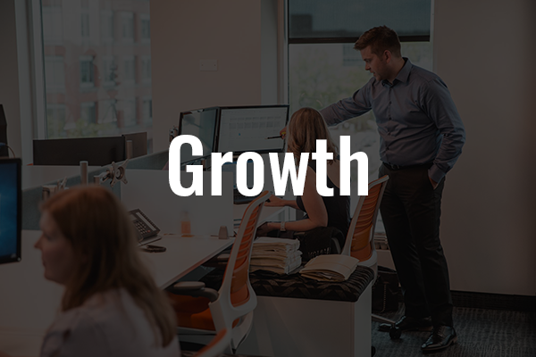 Perks of Gauvreau CPA Box that says Growth