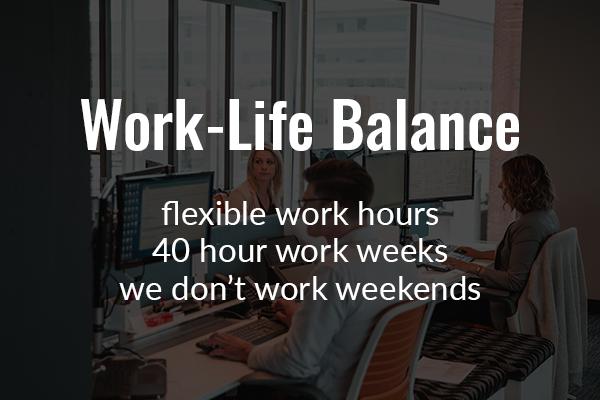 Work-Life Balance Reveal